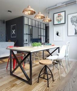 Mesas rústicas para decorar tu salón - Forja Hispalense Blog