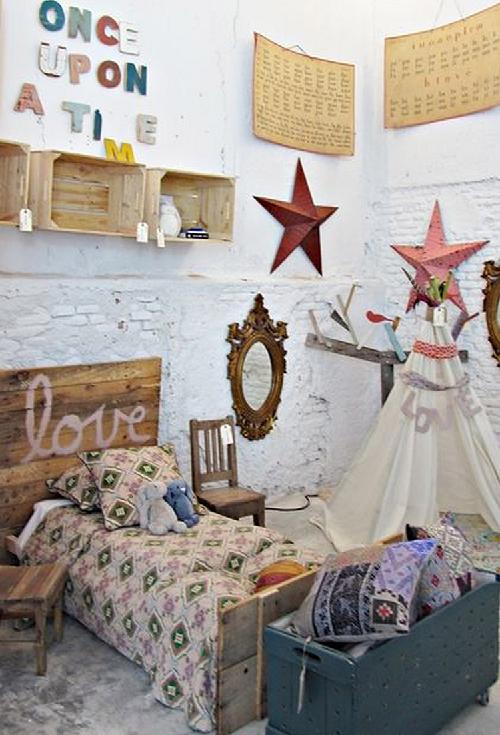 Dormitorios infantiles boho chic forja hispalense blog for Dormitorio boho