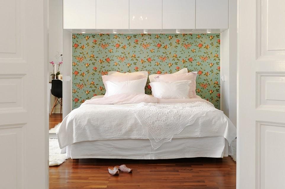 Los cabeceros de cama son muy personales - Cabecero papel pintado ...