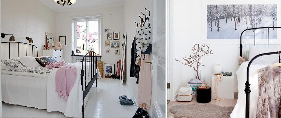 Decorar con camas de forja un dormitorio estilo n rdico - Cama estilo nordico ...