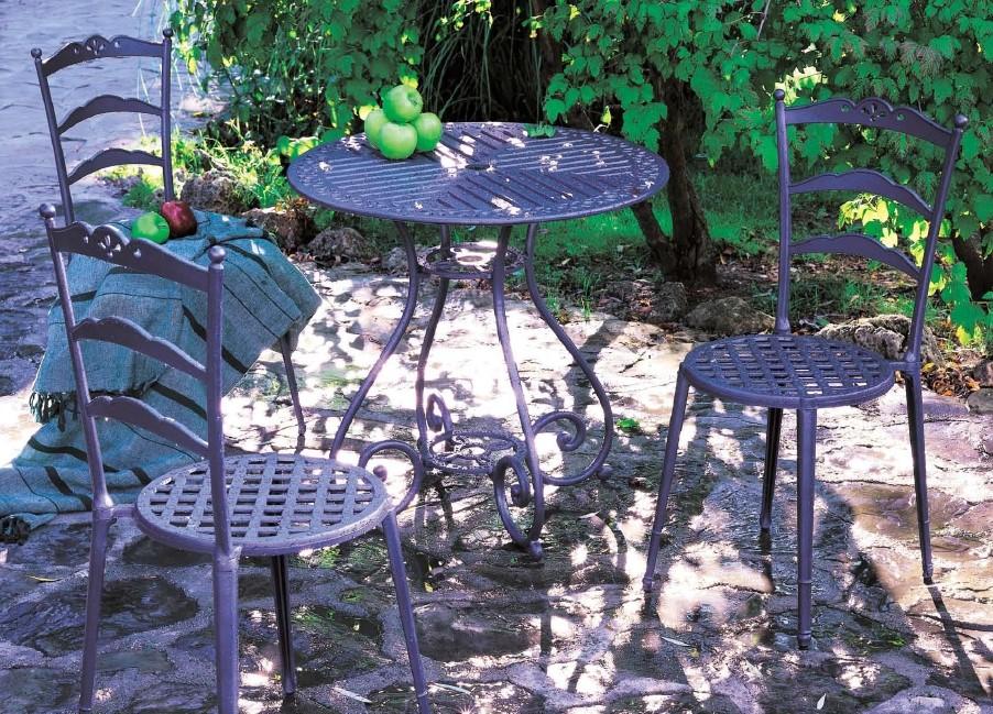 Disfrutando con mis muebles de jard n forja hispalense blog - Bancos de forja para jardin ...