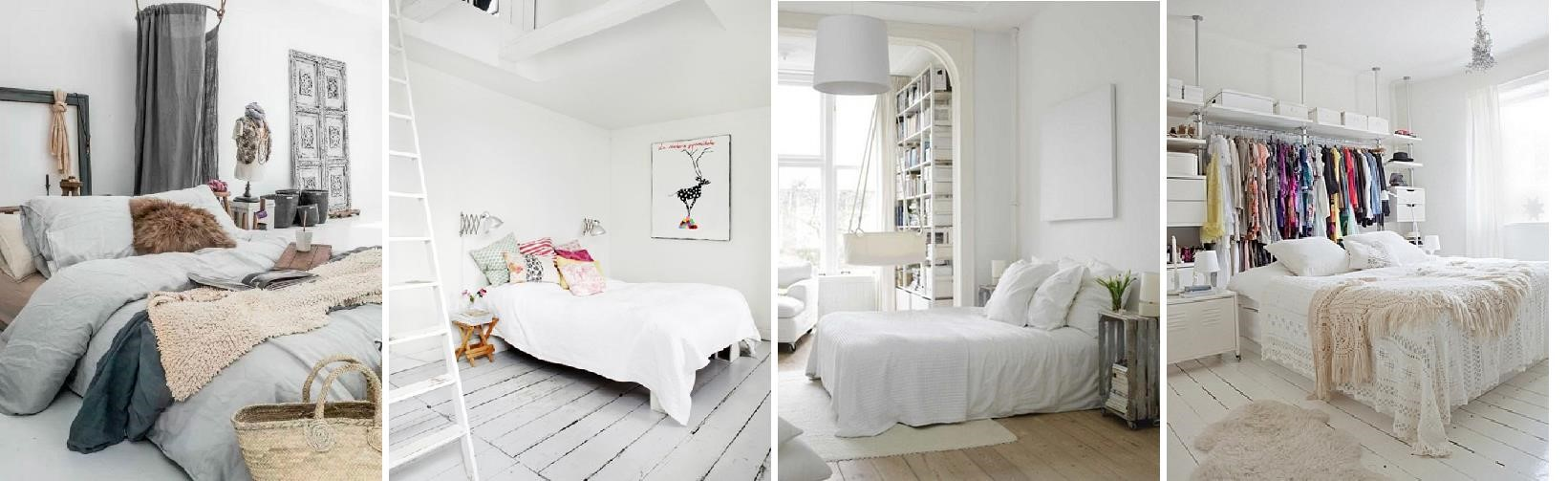 Decorar con camas de forja un dormitorio estilo n rdico for Estilo nordico para dormitorio