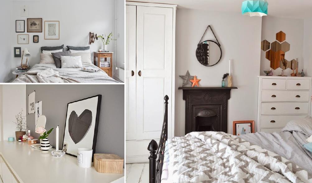 Decorar con camas de forja un dormitorio estilo n rdico - Decorar estilo nordico ...