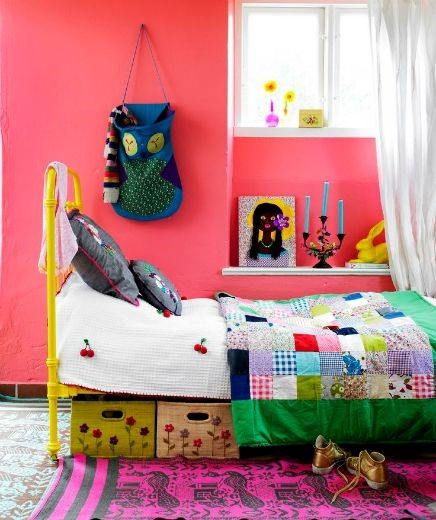 camas de forja de colores