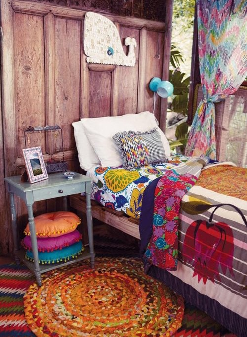 Dormitorios infantiles estilo boho chic forja hispalense for Decoracion piso hippie