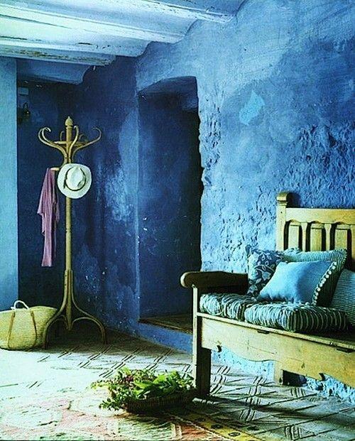 Ba Os Color Azul Colores En Casa - Paredes Pintadas De Azul ...