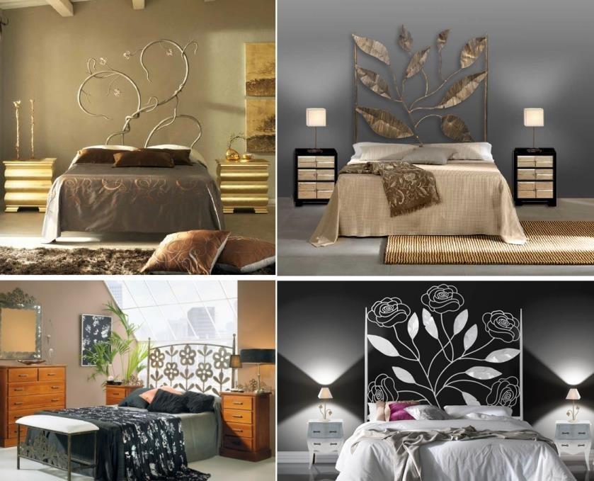 Cambia la decoraci n de tu dormitorio con cabeceros de for Cabeceros de forja baratos