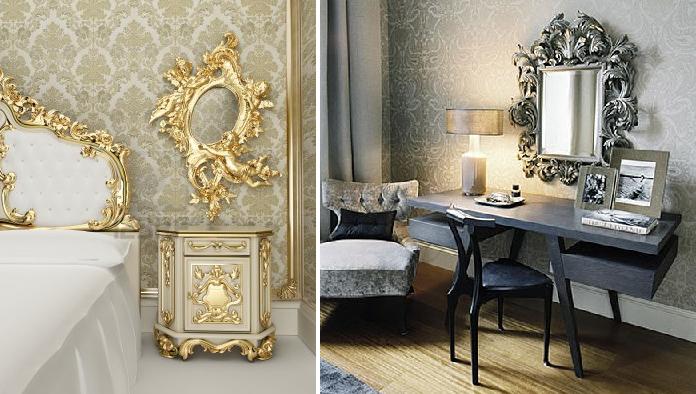 Dormitorios de estilo barroco moderno forja hispalense - Estilo barroco decoracion ...