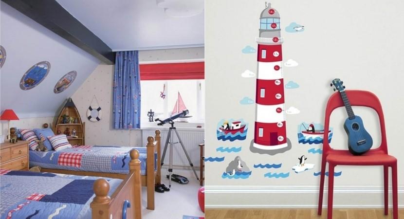 Dormitorios juveniles en estilo navy forja hispalense blog for Habitaciones sobre el mar
