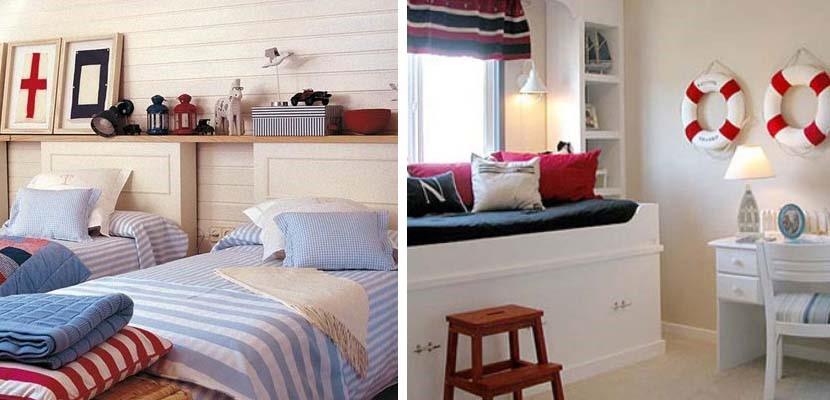 Dormitorios juveniles en estilo navy forja hispalense blog - Habitaciones juveniles con estilo ...