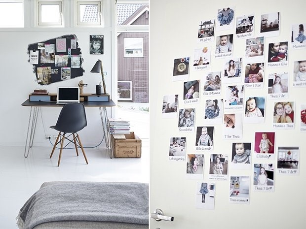 8 formas originales para decorar una pared forja hispalense - Ideas para decorar paredes con fotos ...