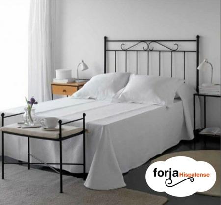 Decoraci n de dormitorios de matrimonio forja hispalense - Adornos de pared de forja ...