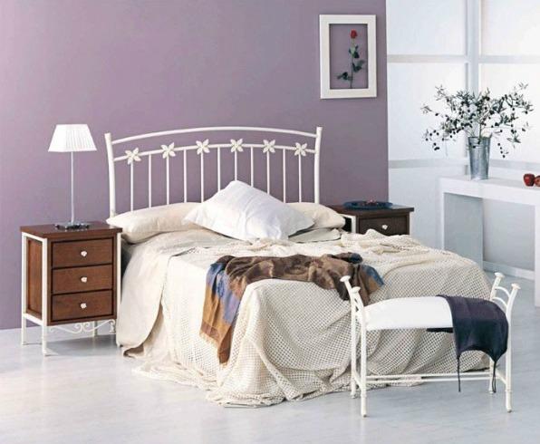 Decoraci n de dormitorios de matrimonio forja hispalense - Habitaciones de forja ...