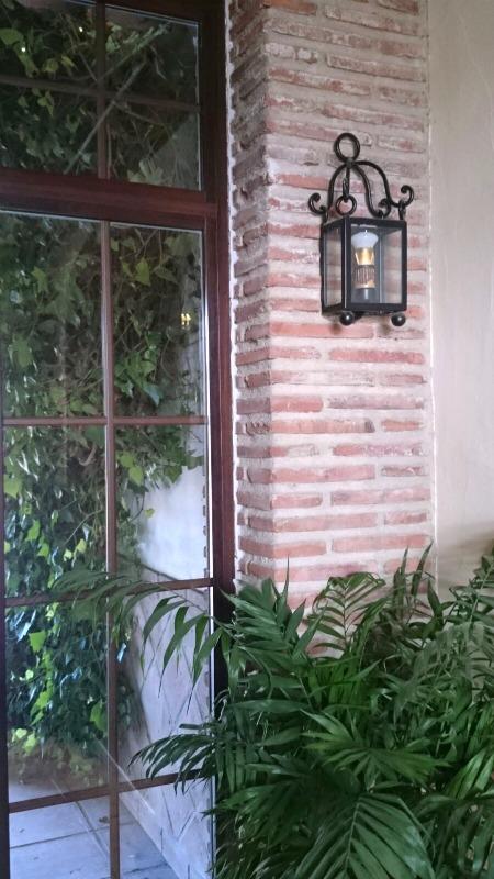 Apliques de forja para la decoraci n forja hispalense blog for Apliques de pared exterior