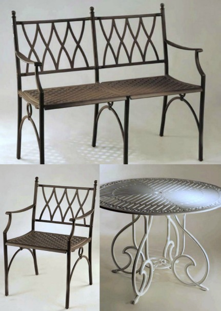 Muebles de exterior en forja forja hispalense blog - Forja hispalense ...