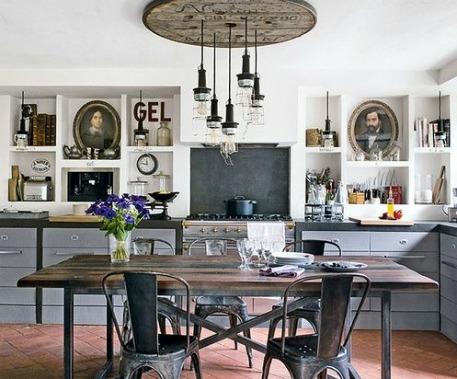 Detalles para cocinas industriales forja hispalense blog - Muebles cocina industrial ...