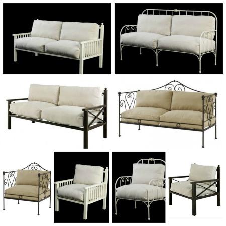 Muebles de exterior en forja forja hispalense blog for Muebles de jardin sillones