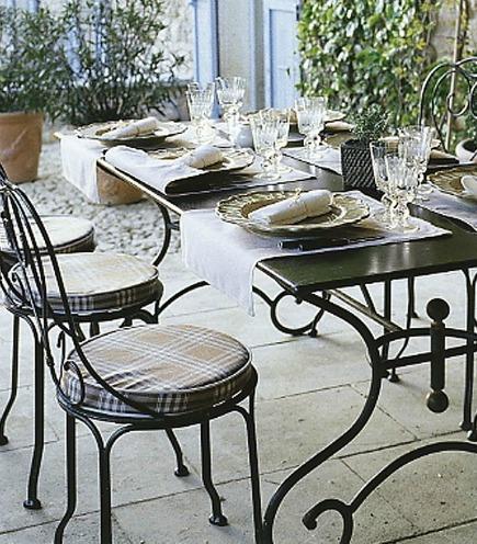 Muebles De Exterior En Forja Forja Hispalense Blog - Sillas-de-forja-para-jardin