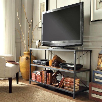 Mesas de televisi n decorativas forja hispalense - Mesa para tele ...