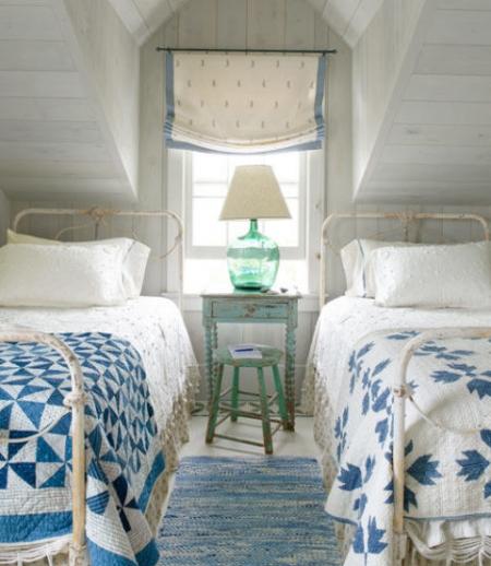 camas de forja blancas para dormitorio juvenil