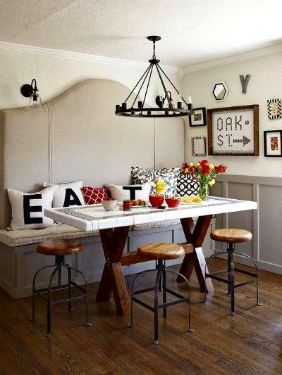 Decoracion rustica para tu hogar forja hispalense blog for Sillas de comedor rusticas
