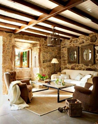 Decoracion rustica para tu hogar forja hispalense blog - Decogarden decoracion salones ...