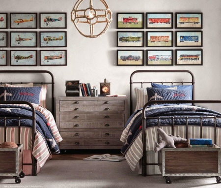 C mo decorar dormitorios juveniles forja hispalense blog - Habitaciones juveniles para chico ...