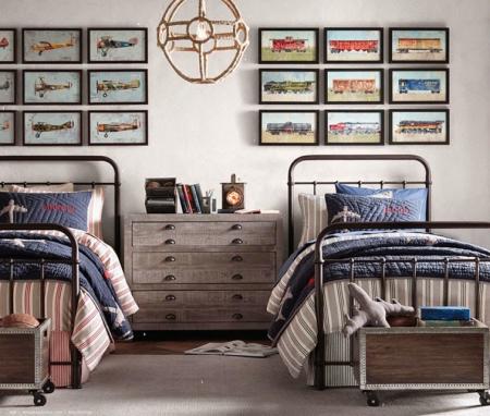 C mo decorar dormitorios juveniles forja hispalense blog for Vinilos habitacion juvenil chico