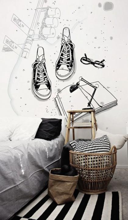C mo decorar dormitorios juveniles forja hispalense blog for Habitacion juvenil con vinilo
