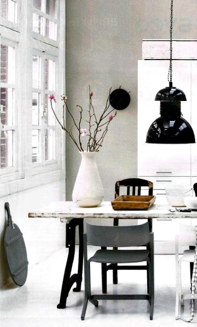 Mesas r sticas para un hogar n rdico forja hispalense blog - Mesas de cocina rusticas ...