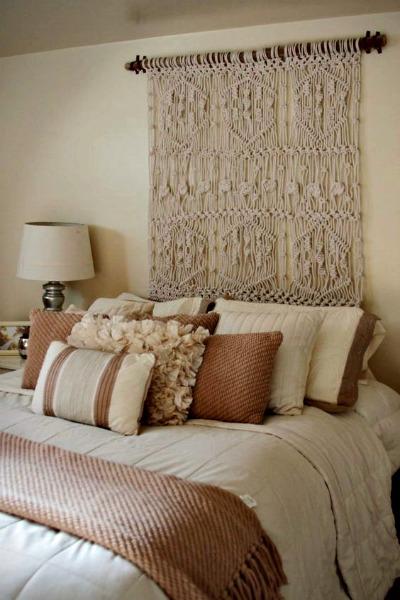 Cabeceros r sticos para el cuarto de invitados forja - Hacer cabecero cama barato ...