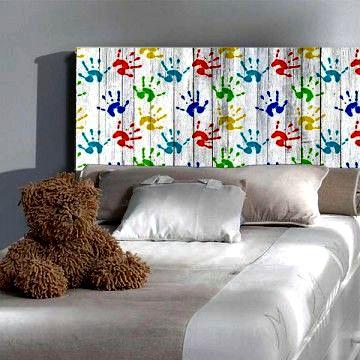 Cabeceros infantiles originales forja hispalense blog - Cabezales de cama caseros ...