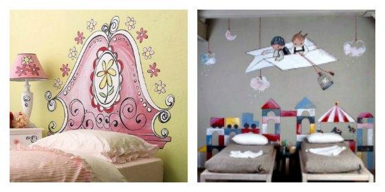 Cabeceros infantiles originales forja hispalense blog - Cabeceros pintados ...