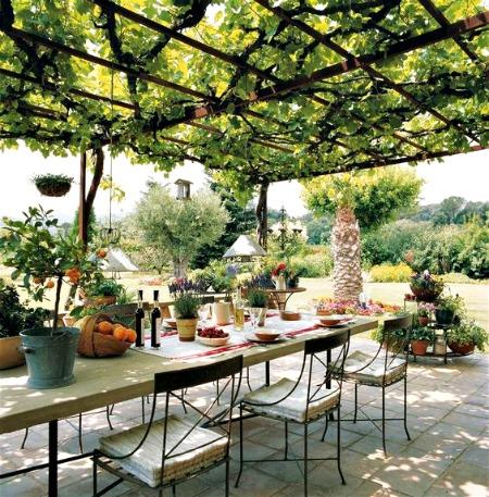 Mesas de forja para patios r sticos forja hispalense blog for Cocinas rusticas para patios