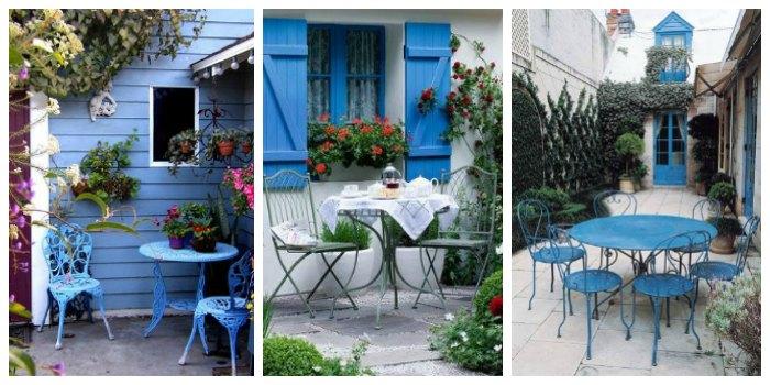 Muebles de forja para una casa en la playa forja hispalense for Muebles para patios exteriores