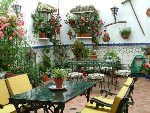 Decoracion de jardines rusticos excellent distintos tipos for Decoracion de patios rusticos