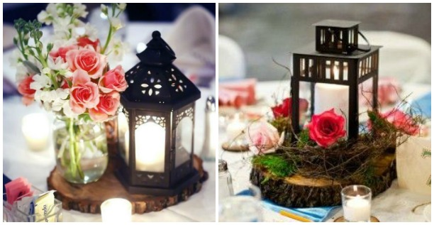 Faroles de forja para decorar una boda forja hispalense blog for Como decorar una mesa de jardin