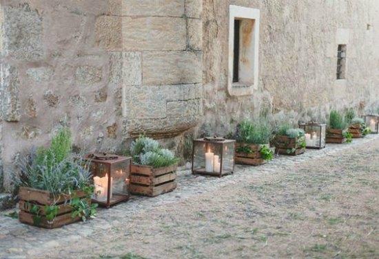 Faroles de forja para decorar una boda forja hispalense blog for Zocalos rusticos para patios